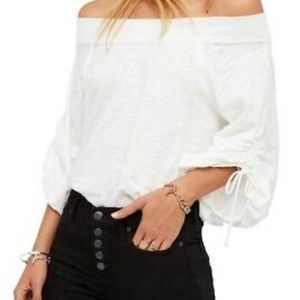 We the Free People Bohema Ivory XS Ruched
